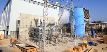 תחנת הכח אלון תבור /  צילוםיוסי זמיר חברת החשמל