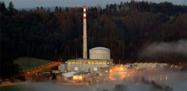 כור גרעיני להפקת חשמל ליד ברן, שווייץ/ צילום: רויטרס