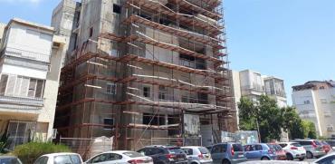 """תמ""""א 38 ברחוב יהודה הנשיא בר""""ג, / צילום: תמר מצפי"""