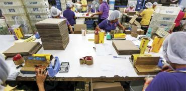 מפעל לייצור סבון בתאילנד/ צילום: רויטרס Athit Perawongmetha