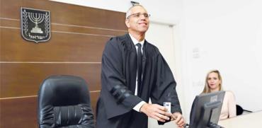 השופט גלעד הס / צילום: אלון רון