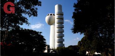 מגדל המאיץ במכון ויצמן / צילום: איל יצהר