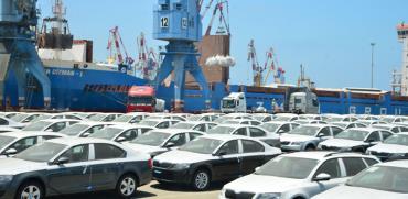 נמל אשדוד  רכבים חדשים/ צילום: תמר מצפי