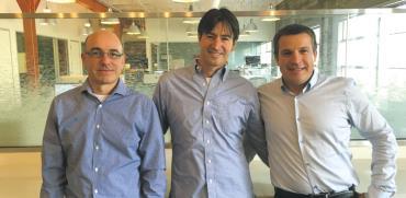 מייסדי Next Insurance אלון חורי, גיא גולדשטיין ונסים טפירו/ צילום:יחצ