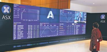הבורסה האוסטרלית/ צילום: רויטרס
