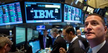 וול סטריט IBM /  צילום: Reuters, Brendan McDermid