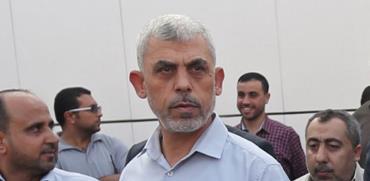 יחיא סינוואר מנהיג חמאס ברצועת עזה/ צילום: רויטרס