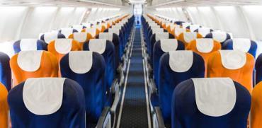 מראה פנימי של מטוס / צילום: Shutterstock/ א.ס.א.פ קרייטיב