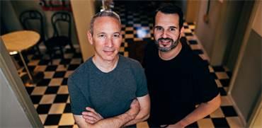 שי וינינגר ודניאל שרייבר, מייסדי למונייד / צילום: בן קלמר
