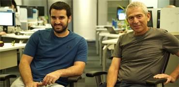 מייסדי drivenets עידו סוסן והלל קוברינסקי / צילום: אורי אלון , גלובס