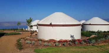 כפר היורטות המונגולי / צילום: אורלי גנוסר