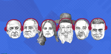 ראשי המפלגות בבחירות לכנסת ה-22, פודקאסט ליום הבוחר / צילום: גיל ג'יבלי, גלובס