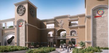 """מרכז העיצוב דיזיין סיטי, מעלה אדומים / הדמיה: יח""""צ"""