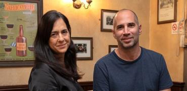 ערן גפן ואימי עירון / צילום: כדיה לוי