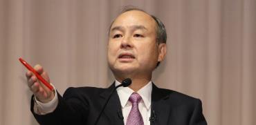 """מסיושי סאן, מנכ""""ל סופטבנק / צילום: Takehito Kobayashi, רויטרס"""