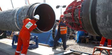 נורד סטרים 2. צינור הגז של פוטין / צילום: רויטרס