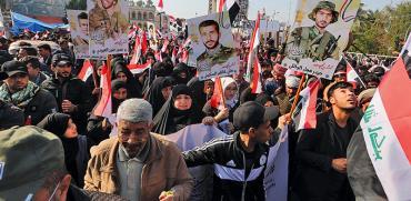 הפגנות בבגדאד נגד השלטון / צילום: רויטרס