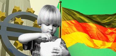 האם הגרמנים חוסכים יותר מדי כסף? / צילומים: shutterstock, עיבוד תמונה: טלי בוגדנובסקי