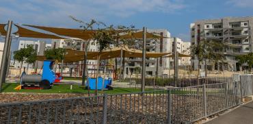 גינה ציבורית בחריש / צילום: שלומי יוסף