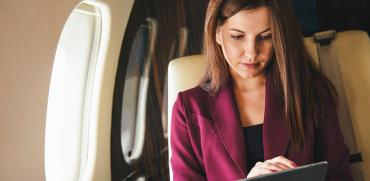 אינטרנט אלחוטי בטיסות / אילוסטרציה: shutterstock