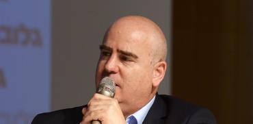 עדיאל שמרון, ועידת ישראל לנדלן / צילום: איל יצהר