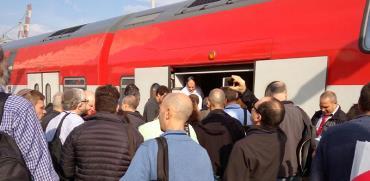 """רכבת ישראל / צילום: יח""""צ"""
