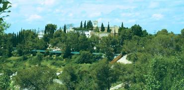 מנזר בית ג'מאל והאדמות סביבו / צילום: יוסי זמיר