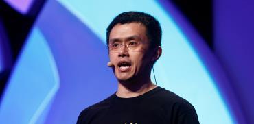 """צ'אנגפנג זאו, מנכ""""ל בורסת הקריפטו Binance שנפרצה / צילום: רויטרס"""