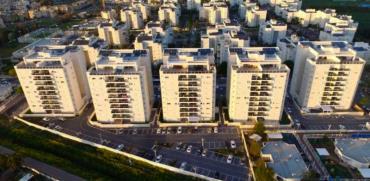 שכונת וילאר הירוקה בנהריה / צילום: מצגת החברה