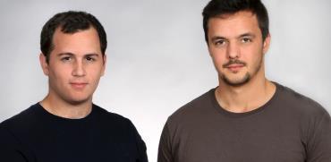 ליאור לאמש (מימין) ושחר שמאי, מייסדי GK8  / צילום: אסנת קרסננסקי