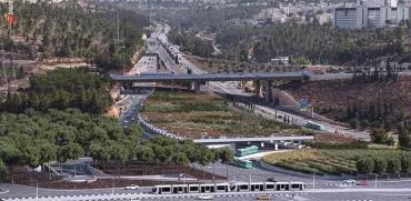 הדמיית החניון של התחנה המרכזית של צפון ירושלים   / צילום: חברת מוריה, מורדגן