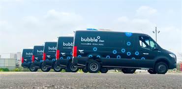 """מיניבוס Bubble של ויה וחברת דן / צילום: יח""""צ"""