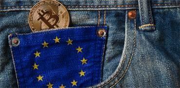 ביטקוין והאיחוד האירופי / צילום: שאטרסטוק