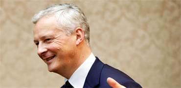 ברונו לה מאר, שר האוצר הצרפתי / צילום: REUTERS/Issei Kato/Pool/File Photo