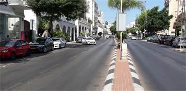 רחוב ויצמן במרכז כפר סבא / צילום: דוברות עיריית כפר סבא