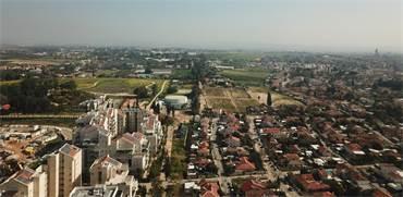 כפר סבא ממעוף הציפור / צילום: שאטרסטוק