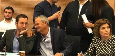 זאב בילסקי בדיון על החוק לפיזור הכנסת / צילום: טל שניידר, גלובס