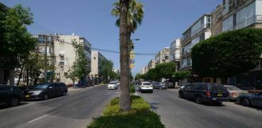 רחוב כצנלסון בגבעתיים/ צילום:  איל יצהר