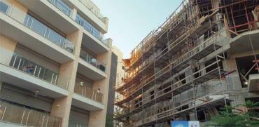 """פרויקטים של תמ""""א 38 ברמת גן, אחד בבנייה, אחד כבר הסתיים./ צילום: גיא ליברמן"""