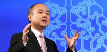 """מנכ""""ל סופטבנק, מסיושי סאן/ צילום: רויטרס Yoshio Tsunoda"""