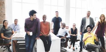 גיוון בכוח העבודה./   צילום: Shutterstock א.ס.א.פ קריאייטיב