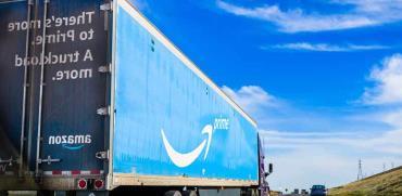 משאית של אמזון/ צילום:  Shutterstock/ א.ס.א.פ קריאייטיב