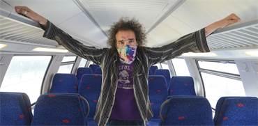 דרור פויר ברכבת הריקה / צילום: איל יצהר, גלובס