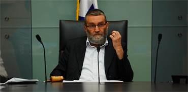 """יו""""ר ועדת הכספים משה גפני / צילום: עדינה ולמן, דוברות הכנסת"""