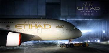מטוס של חברת אתיחאד אירווייז / צילום: שאטרסטוק