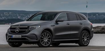 "Mercedes Benz EQC / צילום: יח""צ"