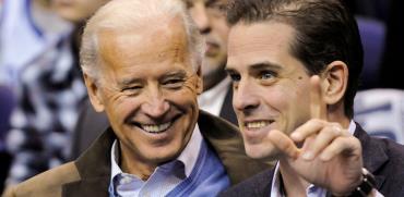 ג'ו ביידן ובנו האנטר / צילום: Jonathan Ernst, רויטרס