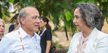 ענת גואטה ומשה ברקת / צילום: שלומי יוסף