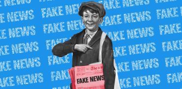 החטאים של התקשורת - פייק ניוז / אילוסטרציה: אפרת לוי, גלובס