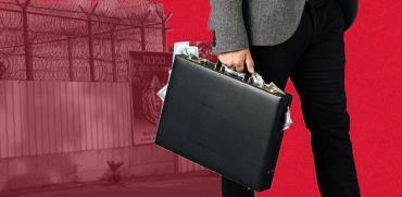 מזוודת מזומנים /  צילומים: יוסי כהן, shutterstock. עיבוד: טלי בוגדנובסקי